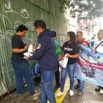 Aksi Penunggang Nmax-Xmax Bagi-bagi Masker