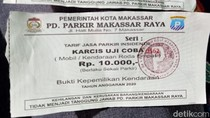 Viral Parkir Rp 10 Ribu/Mobil, PD Parkir Makassar: Itu Karcis Insidentil