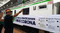 Dukung Social Distancing, Daop 1 Jakarta Batalkan 19 Perjalanan KA