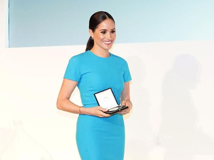 LONDON, ENGLAND - MARCH 05: Meghan, Duchess of Sussex attends the annual Endeavour Fund Awards at Mansion House on March 5, 2020 in London, England. Their Royal Highnesses will celebrate the achievements of wounded, injured and sick servicemen and women who have taken part in remarkable sporting and adventure challenges over the last year. (Photo by Paul Edwards - WPA Pool/Getty Images)