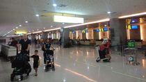 Imbas Virus Corona Bandara Ngurah Rai Senyap
