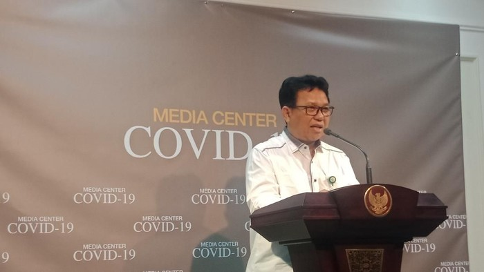 Direktur Utama RSPI Sulianti Saroso M Syahril (Foto: Kanavino/detikcom)