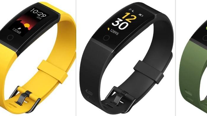Smartband Realme akan menyaingi Mi Band dari Xiaomi.