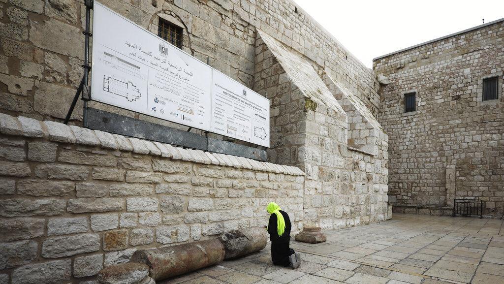 Gara-gara Corona, Gereja di Bethlehem Ditutup