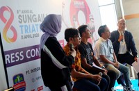 Budi Pamungkas, Perwakilan PT Integra Padma Mandiri selaku Panitia Penyelenggara Mandiri 8th Annual Sungailiat Triathlon 2020 mengatakan ajang ini memperebutkan total hadiah sebesar Rp 372 juta. Tahun lalu, ajang tersebut diikuti oleh kurang lebih 300 peserta dari 16 negara.