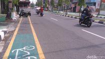 Jalur Sepeda Medan Jadi Parkir Liar, Padahal Perbaikannya Habiskan Rp 18 M