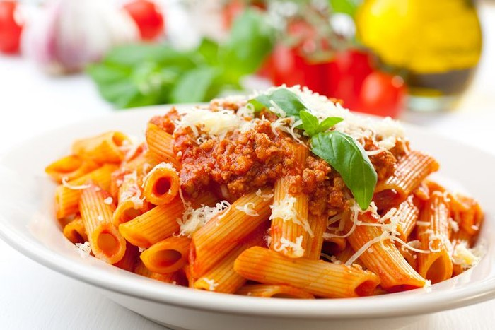 Penne, pasta Italia