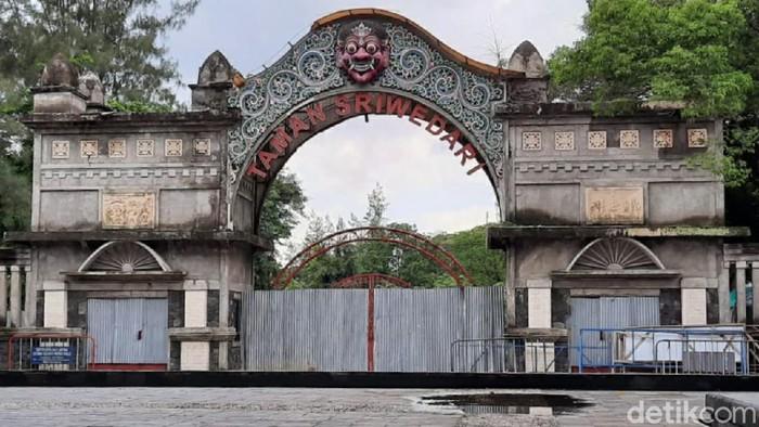 Taman Sriwedari, Solo, Jumat (6/3/2020).