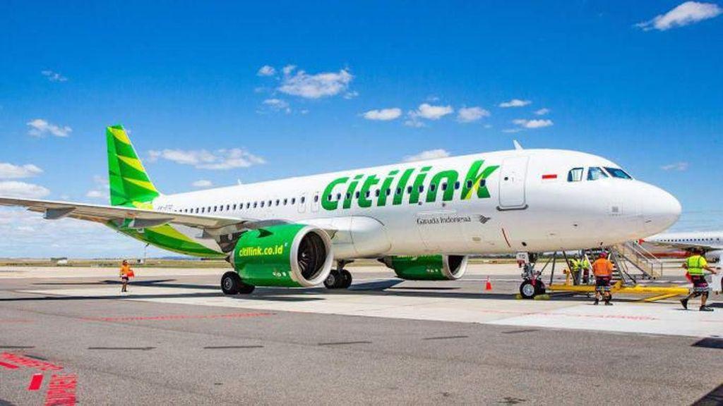 Citilink Batal Layani Penerbangan Komersial di Adi Soemarmo
