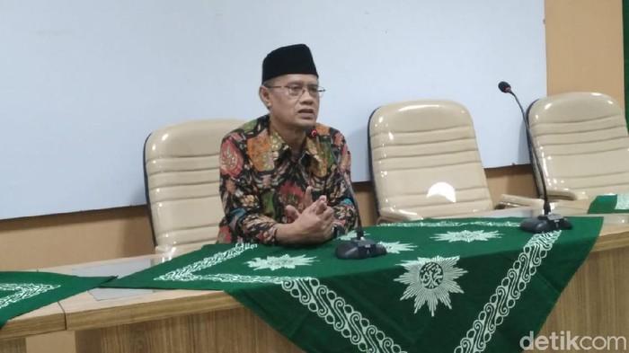 Ketum PP Muhammadiyah Haedar Nashir, Jumat (6/3/2020).