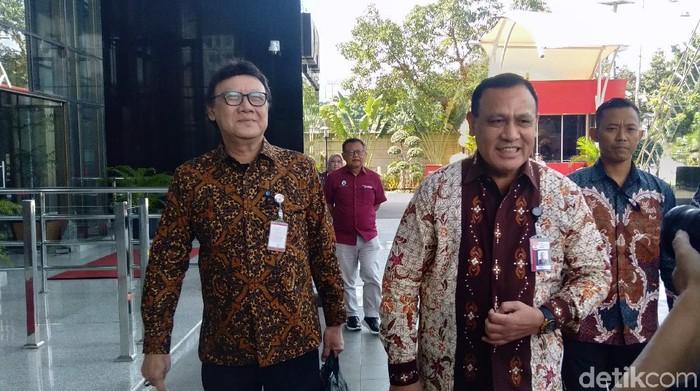 Menteri Tjahjo Kumolo Merapat ke KPK, Bahas Stranas Pencegahan Korupsi