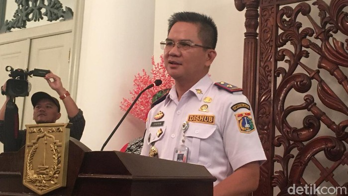 Kepala Dinas Perhubungan DKI Jakarta, Syafron Liputo.