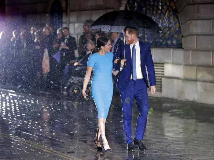 penampilan serasi Pangeran Harry dan Meghan Markle