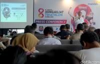 Para pihak penyelenggara dan juga Bupati Bangka, Mulkan tetap optimis pelaksanaan Sungailiat Triathlon ke-8 tahun ini sukses digelar di tengah gencarnya isu mewabahnya Virus Corona (Covid 19) yang juga sudah memasuki Indonesia.