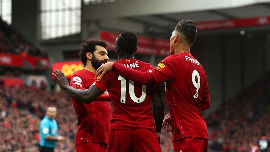 Liverpool Vs Bournemouth: Si Merah Menang 2-1 Berkat Salah dan Mane