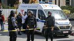 Polisi Tunisia Olah TKP Bom Bunuh Diri di Depan Kedubes AS
