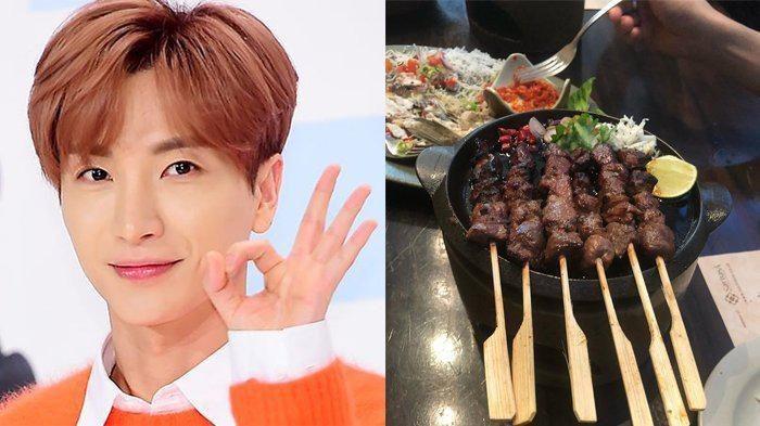 artis korea makan sate