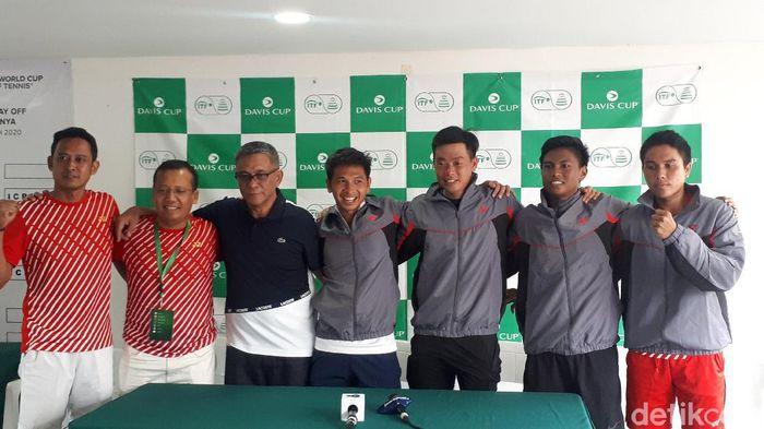 Piala Davis 2020, Tim Piala Davis Indonesia