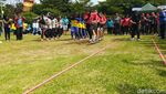 Serunya Lomba Olahraga Tradisional di Ciamis