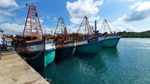 Lima Kapal Maling Ikan Diciduk di Natuna