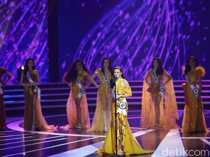 Kalista Iskandar, perwakilan Sumatera Barat di Puteri Indonesia 2020