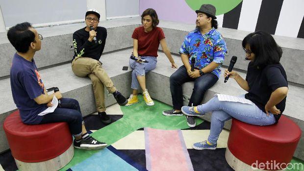 detikHOT bersama Wendi Putranto, Azizah Hanum dan Ryan Kampua.