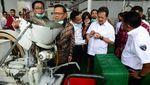 Wamenhan Tinjau Pabrik Munisi Pindad di Malang