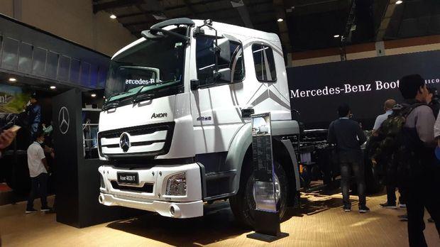 Mercedes-Benz meluncurkan varian baru di GIICOMVEC 2020