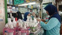 Beli Masker Murah di Pasar Pramuka Cuma Boleh 20 Lembar per Orang