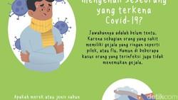 Banyak hal seputar virus corona COVID-19 yang masih membingungkan bagi sebagian orang. Termasuk soal penularan, info yang beredar tak semua bisa dipercaya.
