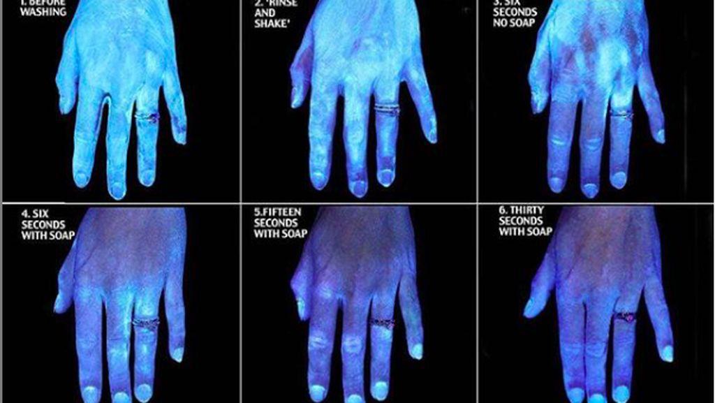 Kenapa Cuci Tangan Harus 30 Detik Pakai Sabun? Foto Ini Ungkap Alasannya