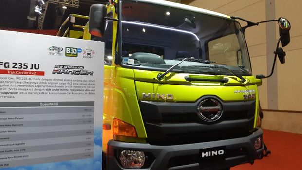 Hino meluncurkan variann baru di GIICOMVEC 2020