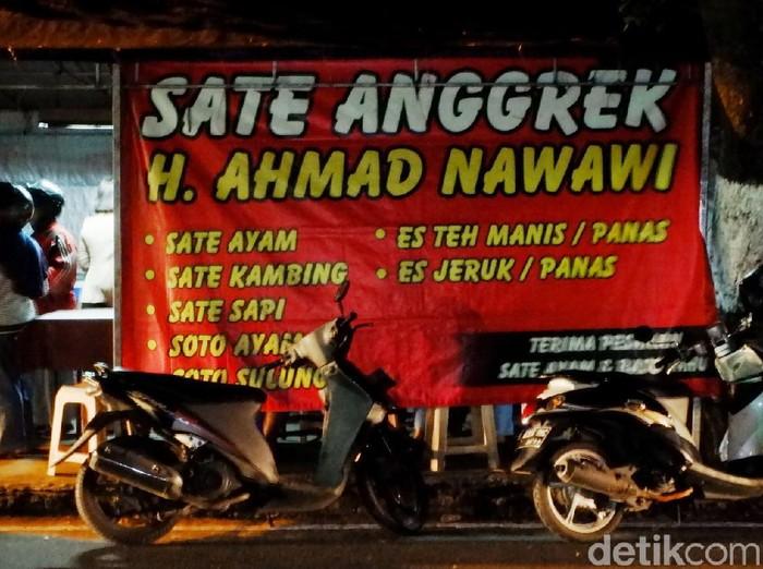 warung sate anggrek H. Ahmad Bandung