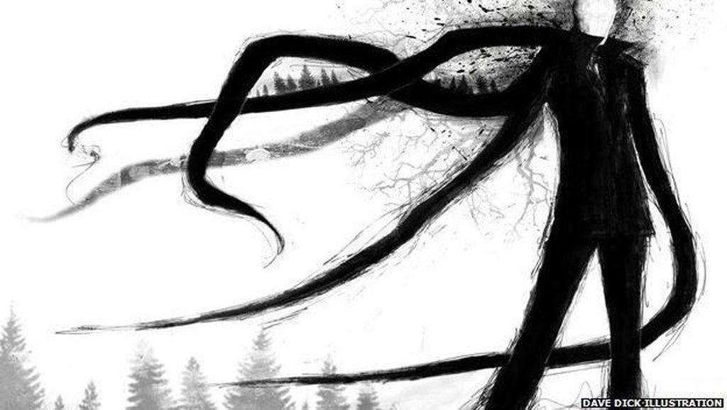 Tentang Slenderman, Karakter fiksi di Balik Aksi Keji NF
