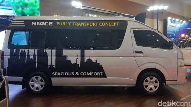 Toyota HiAce disulap jadi angkutan umum perkotaan