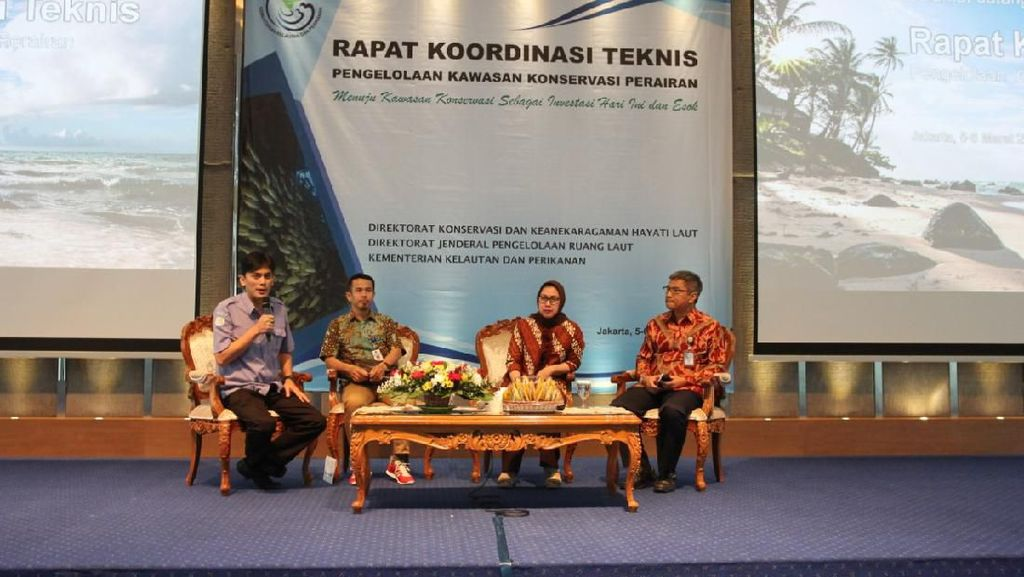 KKP Target Jadikan 10% Perairan RI untuk Kawasan Konservasi di 2030