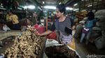 Harga Jahe di Pasar Kramat Jati Tembus Rp 70 Ribu