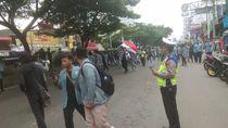 Ada Aksi Long March Mahasiswa, Jalan Margonda Depok Sempat Macet
