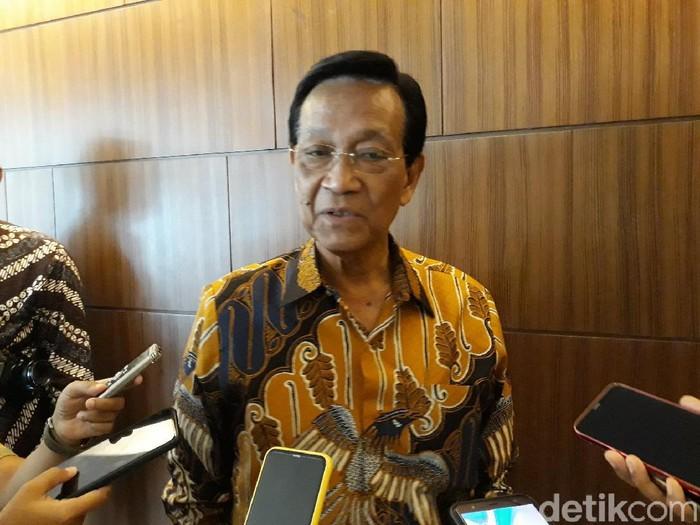 Gubernur DIY Sri Sultan Hamengku Buwono X, Senin (9/3/2020).