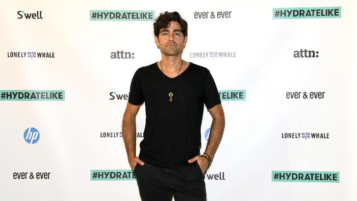 NEW YORK, NEW YORK - JUNE 06: Adrian Grenier celebrates the opening of the Museum of Plastic presented by Lonely Whale, co-hosted by Ever & Ever, HP, attn:, and Swell in SoHo on June 06, 2019 in New York City. (Photo by Craig Barritt/Getty Images for Ever & Ever)