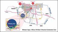Open House Show Unit Amore, Selangkah dari Gerbang Tol Bintaro Jaya