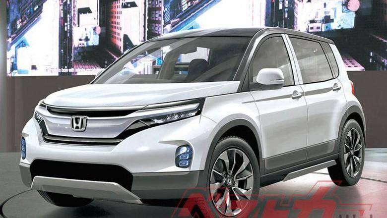Sketsa small SUV terbaru Honda