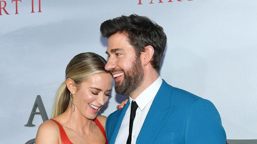 NEW YORK, NY - MARCH 08: Emily Blunt and John Krasinski attend A Quiet Place Part II World Premiere at Rose Theater, Jazz at Lincoln Center on March 8, 2020 in New York City. (Photo by Jason Mendez/Getty Images)