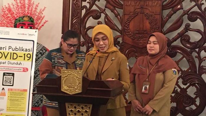 Kepala Bidang Sumber Daya Kesehatan, Dinas Kesehatan DKI Jakarta, Ani Ruspitawati. (Foto: Arief/detikcom)