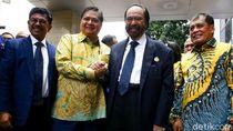 Respons Airlangga Usai Disindir Menteri Urus Parpol di Jam Kerja