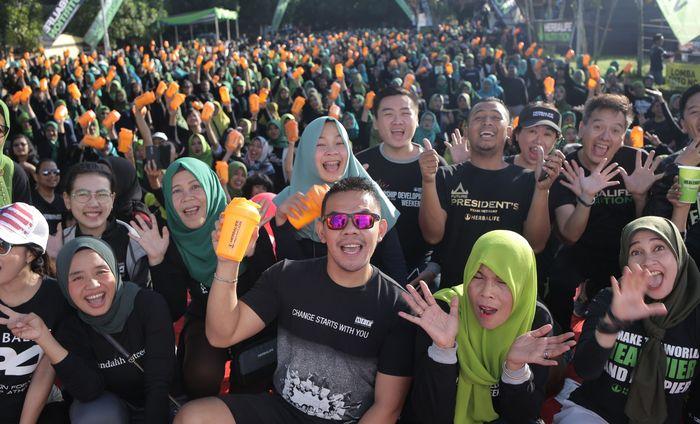 Sebanyak lima puluh ribu paket sarapan diibagikan ke 105 kota di seluruh Indonesia. Hal itu dilakukan sebagai bentuk dukungan pelaksanaan PESAN 2020.