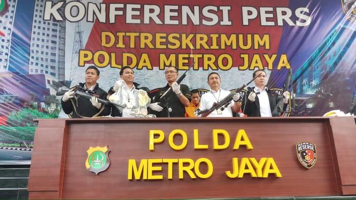 Polda Metro Jaya tangkap komplotan curanmor di Bogor
