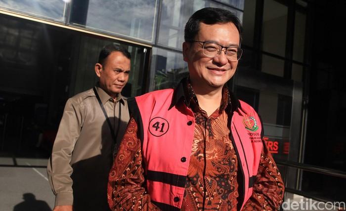 Pemeriksaan lanjutan terhadap tersangka kasus dugaan korupsi di PT Asuransi Jiwasraya (Persero) terus di dalami KPK.