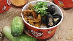 Gaaram: Rice Bowl Ayam Goreng Batu Bara Sabetan Anak Presiden
