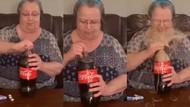 Eksperimen Campur Minuman Soda dan Permen, Nenek Ini Kena Semburannya!
